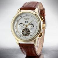 Wholesale Mineral Glass Mens Wrist Watch Cuctom Logo from china suppliers