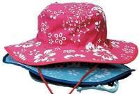 China 5211 - Cotton Print/Solid Reversible Bucket hat w/chin strap on sale