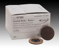 Buy cheap grinding 3M Scotch-Brite Roloc Surface Conditioning Disc (Coarse - 2 in) from wholesalers