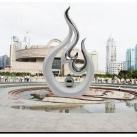 Wholesale Stainless Steel Sculpture Stainless steel abstract sculpture from china suppliers