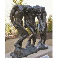Wholesale Large outdoor figure statue sculpture - bronze rodin the three shape from china suppliers