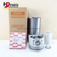 Buy cheap Excavator Engine Parts Heavy Construction Machinery Fittings 6BD1 Liner Kit from wholesalers