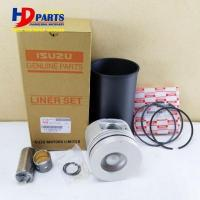 Buy cheap 6HH1 Engine Cylinder Liner Kit For Isuzu Excavator Bulldozer Forkift Loader Truck Bus from wholesalers