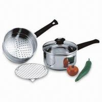 Wholesale 4-piece Stainless Steel Steamer Pan Set from china suppliers