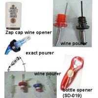 Wholesale Wine Pourer, Bottle Opener, Wine Stopper, Wine Opener from china suppliers