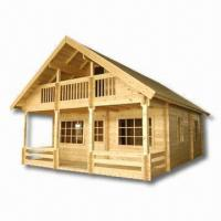 Wholesale DIY Wooden House Made of 7or 10cm Pine Wood from china suppliers