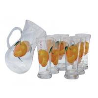 Wholesale Fruit Blossom Glass(5),Glassware,Jug,Cup,Flask from china suppliers